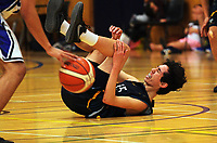 Action from the 2017 Zone 3 AA Secondary Schools basketball premierships boys match between St Patrick's College Wellington and Upper Hutt Collegel at Arena Manawatu in Palmerston North, New Zealand on Friday, 8 September 2017. Photo: Dave Lintott / lintottphoto.co.nz