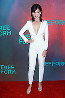 NEW YORK, NY - APRIL 19: Perrey Reeves at The 2017 Freeform Upfront in New York City on April 19, 2017. <br /> CAP/MPI/DIE<br /> &copy;DIE/MPI/Capital Pictures