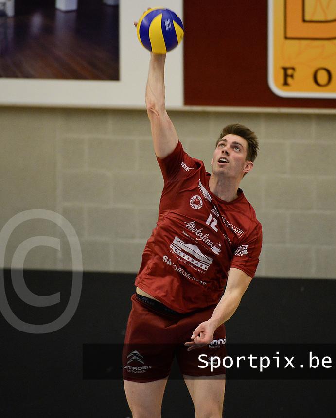 Precura Antwerpen : Mads Ditlevsen <br /> foto VDB / BART VANDENBROUCKE