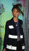 NEW YORK, NY-August 01:  Jayden Smith  at Warner Bros. Pictures & DC, Atlas Entertainment  presents the World Premiere of Suicide Squad  at the Beacon Theatre in New York. NY August 01, 2016. Credit:RW/MediaPunch