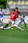 (L-R) ・ Chinatsu Kira (Reds Ladies), ォシ サエェシ/Katrina Gorry (Vegalta Ladies), <br /> JUNE 17, 2017 - Football / Soccer : <br /> Plenus Nadeshiko League Cup 2017 Division 1 <br /> match between Urawa Reds Ladies 0-0 Vegalta Sendai Ladies <br /> at Saitama Urawa Komaba Stadium in Saitama, Japan. <br /> (Photo by MATSUO.K/AFLO SPORT)