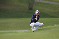 Joakim Lagergren (SWE) on the 17th green during Round 1 of the UBS Hong Kong Open, at Hong Kong golf club, Fanling, Hong Kong. 23/11/2017<br /> Picture: Golffile | Thos Caffrey<br /> <br /> <br /> All photo usage must carry mandatory copyright credit     (&copy; Golffile | Thos Caffrey)
