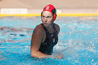 Stanford, CA - April 28, 2019: Emalia Eichelberger during the Stanford vs USC MPSF Women's Water Polo Championship Sunday at the Avery Aquatic Center.<br /> <br /> No. 1 Stanford lost the MPSF Championship in sudden death to the No. 2 Trojans, 9-8.