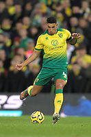 Ben Godfrey of Norwich City during the Premier League match between Norwich City and Manchester United at Carrow Road on October 27th 2019 in Norwich, England. (Photo by Matt Bradshaw/phcimages.com)<br /> Foto PHC/Insidefoto <br /> ITALY ONLY