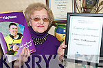 .HAPPY VOLUNTEER: Maire Ni Chearmada from Templeglantine who was presented with a Special Personality Award by  Shannon Region Tidy Town organisation at a function in Limerick last week.    Copyright Kerry's Eye 2008