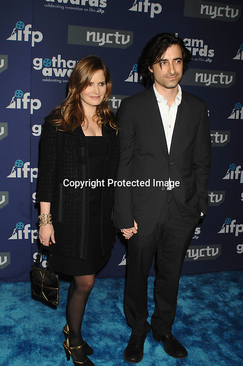 Jennifer Jason Leigh and Alexander Payne..arriving at The 16th annual Gotham Awards on ..November 29, 2006 at Pier Sixty. ..Robin Platzer, Twin Images