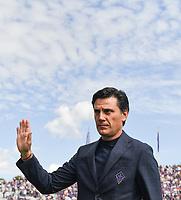 Vincenzo Montella coach of Fiorentina <br /> Firenze 6-10-2019 Stadio Artemio Franchi <br /> Football Serie A 2019/2020 <br /> ACF Fiorentina - Udinese Calcio <br /> Photo Andrea Staccioli / Insidefoto