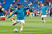 13th September 2017, Santiago Bernabeu, Madrid, Spain; UCL Champions League football, Real Madrid versus Apoel; Francisco Roman Alarcon (22) Real Madrid during warm-up