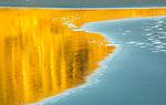 USA, Washington, Olympic National Park, reflection on beach