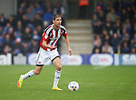 Sheffield United's Chris Basham in action during the League One match at the Kingsmeadow Stadium, London. Picture date: September 10th, 2016. Pic David Klein/Sportimage