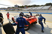 Pirelli World Challenge<br /> Intercontinental GT Challenge California 8 Hours<br /> Mazda Raceway Laguna Seca<br /> Sunday 15 October 2017<br /> Ryan Eversley, Tom Dyer, Dane Cameron, Acura NSX GT3, GT3 Overall pit stop.<br /> World Copyright: Richard Dole<br /> LAT Images<br /> ref: Digital Image RD_PWCLS17_360
