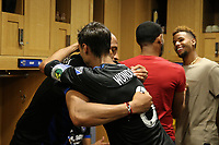 San Jose, CA - Saturday July 29, 2017: Chris Wondolowski after a Major League Soccer (MLS) match between the San Jose Earthquakes and Colorado Rapids at Avaya Stadium.