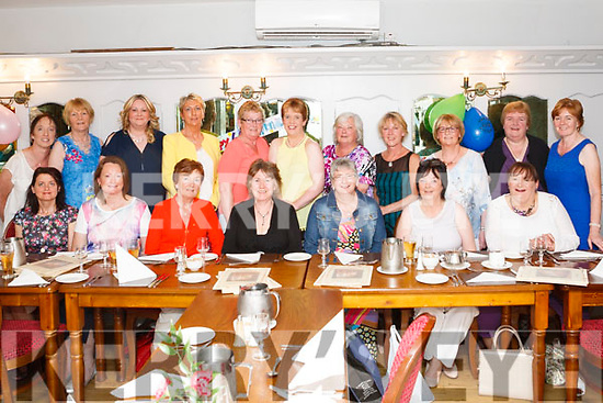 Caroline Blunder ( seated centre) from Knocknagoshel celebrated her 60th. Birthday last Saturday night with her work colleagues from Twohig's Supervalu Abbeyfeale in Leen's Hotel .<br /> Seated: Joan O' Donoghue, Ann O' Connor, Noreen McEnery, Caroline Blunden, Mary Ann Collins, Eileen Woulfe, Pauline Hanlon.<br /> Back: Joan Baker, Maura Buckley, Diane O' Connor, Theresa Dillane, Margaret McCarthy, Sinead O' Halloran, Sue Latchford, Susan Hitching, Majella Murphy, Ann O' Halloran, Veronica O' Connor.