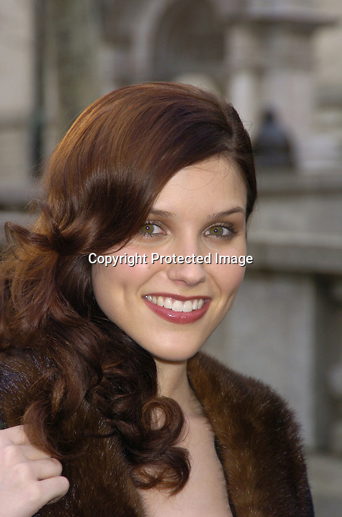 Sophia Bush..at The Heart Truth's Red Dress Collection at the Olympus..Fashion Week in Bryant Park on February 4, 2005...Photo by Robin Platzer, Twin Images