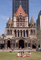 Trinity Church built 1877 combination, Victorian, gothic and french romanesque styles architecture