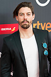 "Adrian Lastra attends to the presentation of the ""Premios Platino"" at Palacio de Cristal in Madrid. April 07, 2017. (ALTERPHOTOS/Borja B.Hojas)"