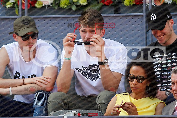 Real Madrid's basketball player Luka Doncic during Madrid Open Tennis 2017 match. May 8, 2017.(ALTERPHOTOS/Acero) /NortePhoto.com