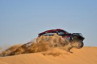 12th January 2020, Riyadh, Saudi Arabia;  311 Terranova Orlando (arg), Graue Bernardo (arg), Mini John Cooper Works Rally, X-Raid Mini JCW Team, during Stage 7 of the Dakar 2020 between Riyadh and Wadi Al-Dawasir, 741 km - SS 546 km, in Saudi Arabia   - Editorial Use