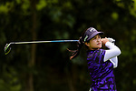 Thanutra Boonraksasat of Thailand tees off during the first round of the EFG Hong Kong Ladies Open at the Hong Kong Golf Club Old Course on May 11, 2018 in Hong Kong. Photo by Marcio Rodrigo Machado / Power Sport Images