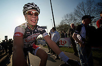 Dwars door Vlaanderen 2012.Gert Dockx post-finish