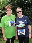 Irene and Kathy Anne kierans who took part in the Annagassan 10K run. Photo: Colin Bell/pressphotos.ie