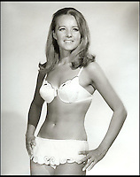 BNPS.co.uk (01202 558833)<br /> Pic: CherryHarker/BNPS<br /> <br /> Cherry Harker in a bikini in the 60s.<br /> <br /> While most people her age are enjoying retirement, 'older-preneur' Cherry Harker has launched a new swimwear brand for the active beach babe.<br /> <br /> In her youth Cherry, 76, knew all too well the perils of wardrobe malfunctions from trying to do watersports in a bikini while on holiday in glamorous resorts like Monaco, Cannes and St Tropez.<br /> <br /> But it wasn't until she got bored in her senior years that the impressive septuagenarian, who has already beaten breast and cervical cancer, decided to tackle the problem for the sporty beachgoer.<br /> <br /> ZwimZuit is a range of bold, panelled bikinis made from high quality neoprene, the material used to make wetsuits, and Cherry says her bikinis stay in place no matter what you do.