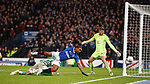 08.11.2019 League Cup Final, Rangers v Celtic: Jermain Defoe hits the side netting