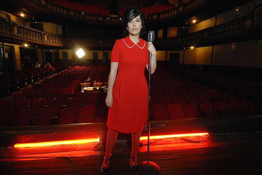 """Moulin Rouge""..Sharleen Spiteri shoots her new video in the Theatre Trianon, just up the road from the famous Moulin Rouge in  Paris..."