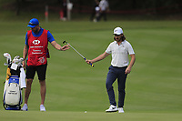 Tommy Fleetwood (ENG) on the 9th during the 1st round at the WGC HSBC Champions 2018, Sheshan Golf Club, Shanghai, China. 25/10/2018.<br /> Picture Fran Caffrey / Golffile.ie<br /> <br /> All photo usage must carry mandatory copyright credit (&copy; Golffile | Fran Caffrey)