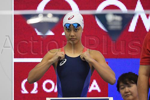 25.10.2016. Tokyo, Japan.  Runa Imai (JPN), <br /> FINA Swimming World Cup Tokyo <br /> Women's 200m Individual Medley Heat <br /> at Tatsumi International Swimming Pool, Tokyo, Japan.
