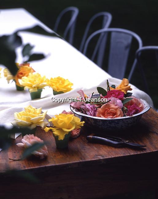 table&flower