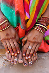 Henna hands, Rajasthan, India