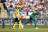 Notts Outlaws' Jake Ball in delivery stride<br /> <br /> Photographer Andrew Kearns/CameraSport<br /> <br /> NatWest T20 Blast Semi-Final - Hampshire v Notts Outlaws - Saturday 2nd September 2017 - Edgbaston, Birmingham<br /> <br /> World Copyright &copy; 2017 CameraSport. All rights reserved. 43 Linden Ave. Countesthorpe. Leicester. England. LE8 5PG - Tel: +44 (0) 116 277 4147 - admin@camerasport.com - www.camerasport.com