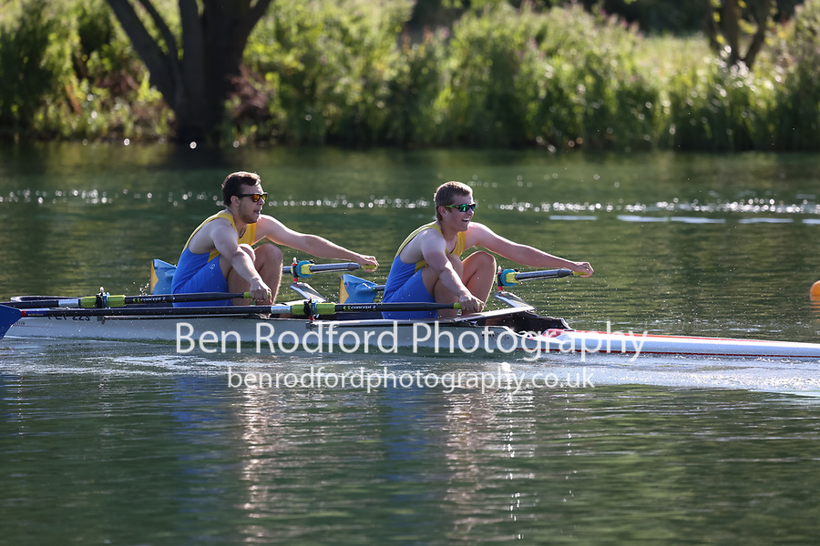 Race: 23: Tier3 2x  Heat 3<br /> <br /> Peterborough Summer Regatta 2017 - Sunday<br /> <br /> To purchase this photo, or to see pricing information for Prints and Downloads, click the blue 'Add to Cart' button at the top-right of the page.