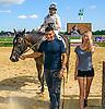 Curlin's Kid winning at Delaware Park on 8/11/16