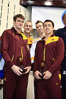 2009 Men's NCAA Swimming & Diving Championships Thursday Finals Minnesota