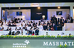 Guests at the Masters Club during the Longines Masters of Hong Kong at AsiaWorld-Expo on 10 February 2018, in Hong Kong, Hong Kong. Photo by Yuk Man Wong / Power Sport Images