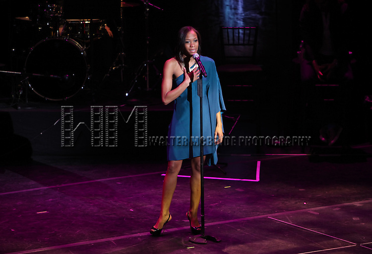 Nikki M. James.performing in 'MISCAST 2012' MCC Theatre's Annual Musical Spectacular at The Hammerstein Ballroom in New York City on 3/26/2012.