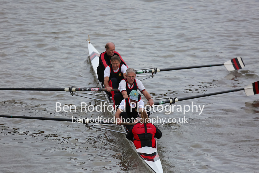 Crew: 189  Worcester  H 4+<br /> <br /> Veteran Fours Head 2018<br /> <br /> To purchase this photo, or to see pricing information for Prints and Downloads, click the blue 'Add to Cart' button at the top-right of the page.