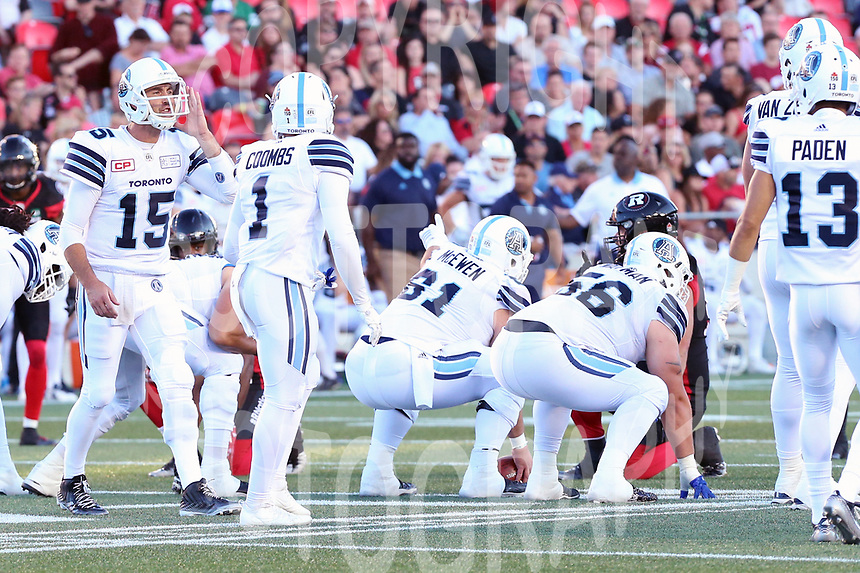 Ricky Ray-Toronto Argonauts-8july2017-Photo: Scott Grant