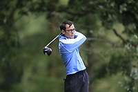 Ian Lynch (Rosslare) during the final of the Irish Mid-Amateur Open Championship, Royal Belfast Golf CLub, Hollywood, Down, Ireland. 29/09/2019.<br /> Picture Fran Caffrey / Golffile.ie<br /> <br /> All photo usage must carry mandatory copyright credit (© Golffile   Fran Caffrey)