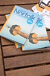 North Norfolk coast tourist guide book Norfolk, England