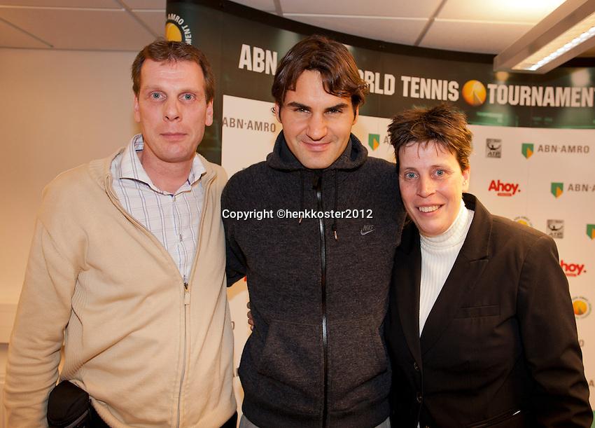 19-02-12, Netherlands,Tennis, Rotterdam, ABNAMRO WTT,