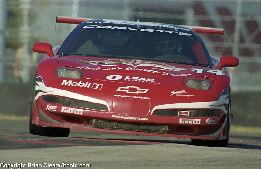 The #14 Chevrolet Corvette C5 of R.K. SMith, Jeff Nowicki, Bill Lester and John Heinricy races to a 54th place finish in  the Rolex 24 at Daytona, Daytona International Speedway, Daytona Beach, FL, February 2000.  (Photo by Brian Cleary/www.bcpix.com)