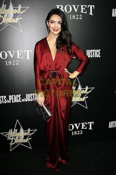 27 February 2014 - West Hollywood, California - Nazanin Boniadi. Hollywood Domino&rsquo;s 7th Annual Pre-Oscar Charity Gala held at Sunset Tower Hotel. <br /> CAP/ADM/<br /> &copy;AdMedia/Capital Pictures