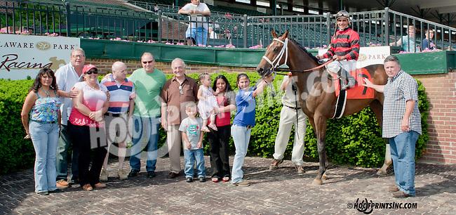 Iron Pat winning at Delaware Park on 5/22/13
