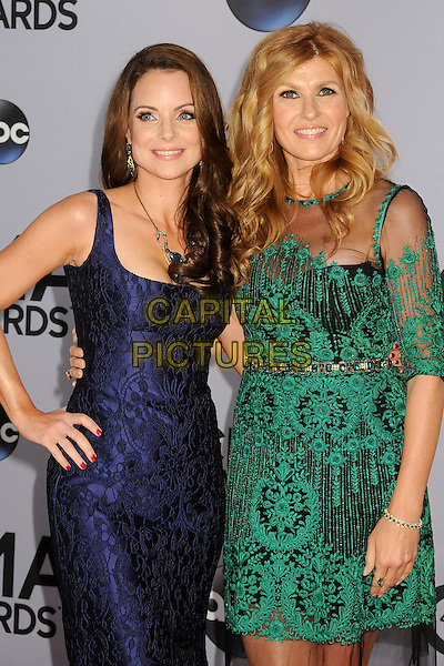 05 November 2013 - Nashville, Tennessee - Kimberly Williams-Paisley, Connie Britton. 47th CMA Awards, Country Music's Biggest Night, held at Bridgestone Arena. <br /> CAP/ADM/BP<br /> &copy;BP/ADM/Capital Pictures