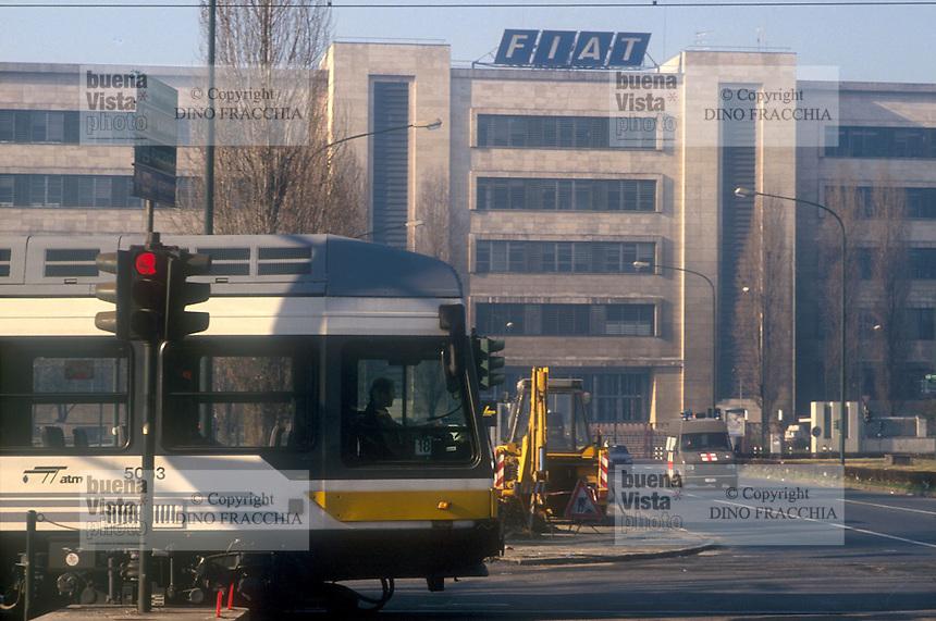 - Torino, Fiat Mirafiori plant<br /> <br /> - Torino, stabilimento FIAT Mirafiori