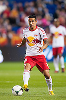 Tim Cahill (17) of the New York Red Bulls. Sporting Kansas City defeated the New York Red Bulls 1-0 during a Major League Soccer (MLS) match at Red Bull Arena in Harrison, NJ, on April 17, 2013.