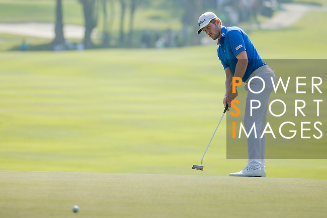 Andrew Dodt of Australia putts on the green during the 58th UBS Hong Kong Golf Open as part of the European Tour on 11 December 2016, at the Hong Kong Golf Club, Fanling, Hong Kong, China. Photo by Vivek Prakash / Power Sport Images